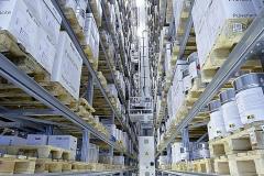 Production high rack warehouse FreiLacke