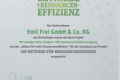 Ressourcen efficient certificate