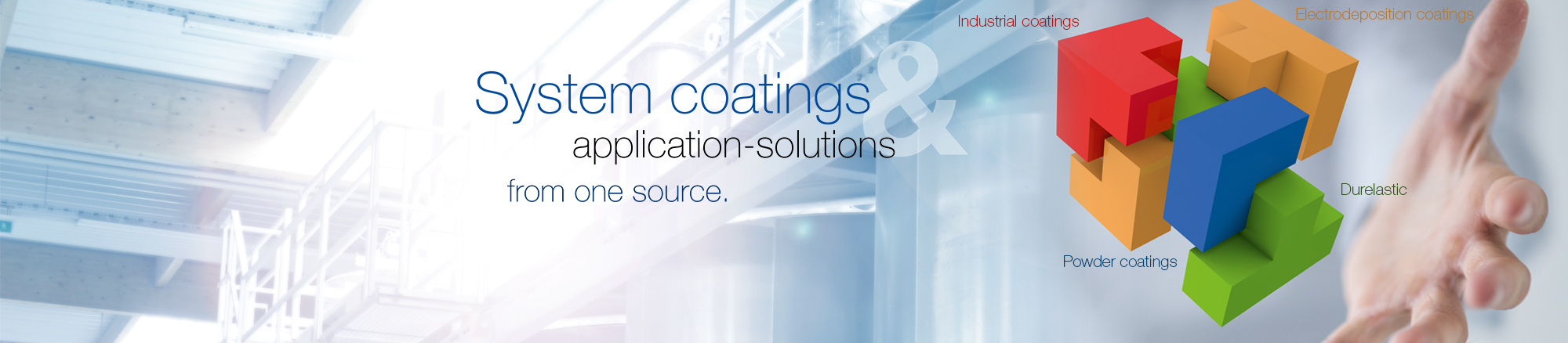 System coatings & application solutions from one source