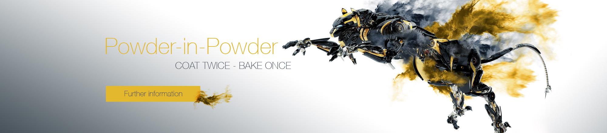 Powder-in-Powder technology of FreiLacke